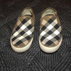 Burberry Slip-on Sneakers Sz 5